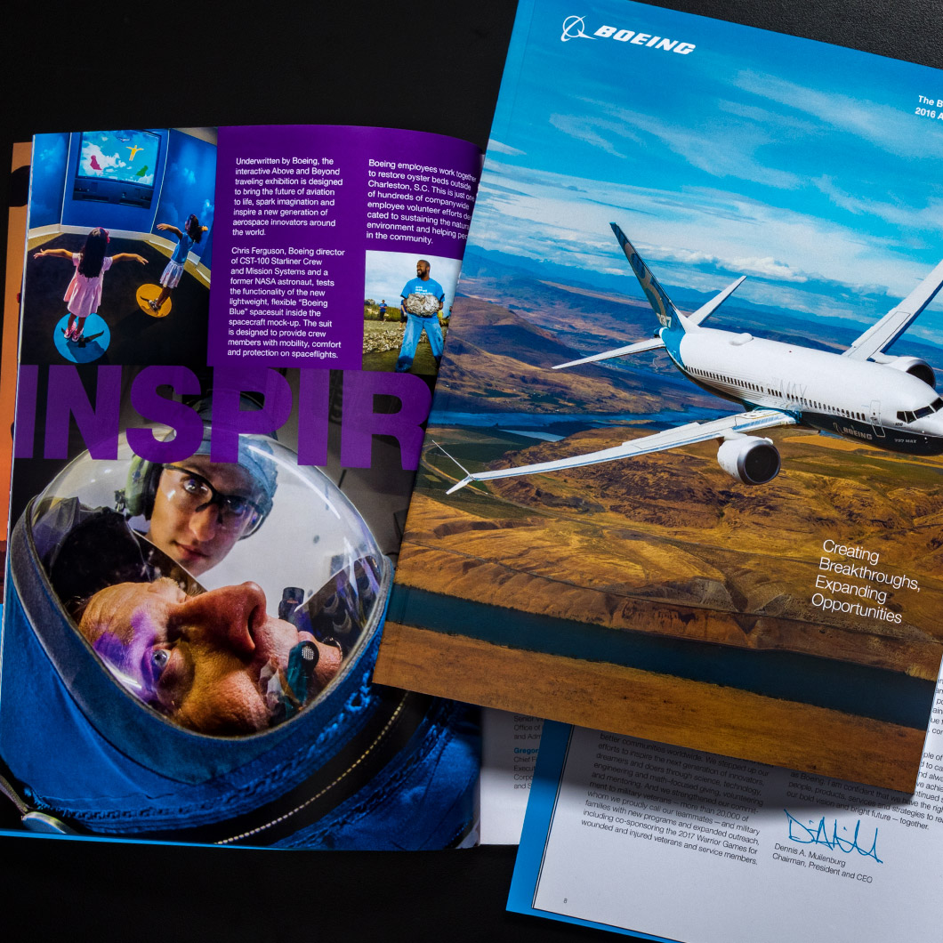 2016 Boeing Annual Report