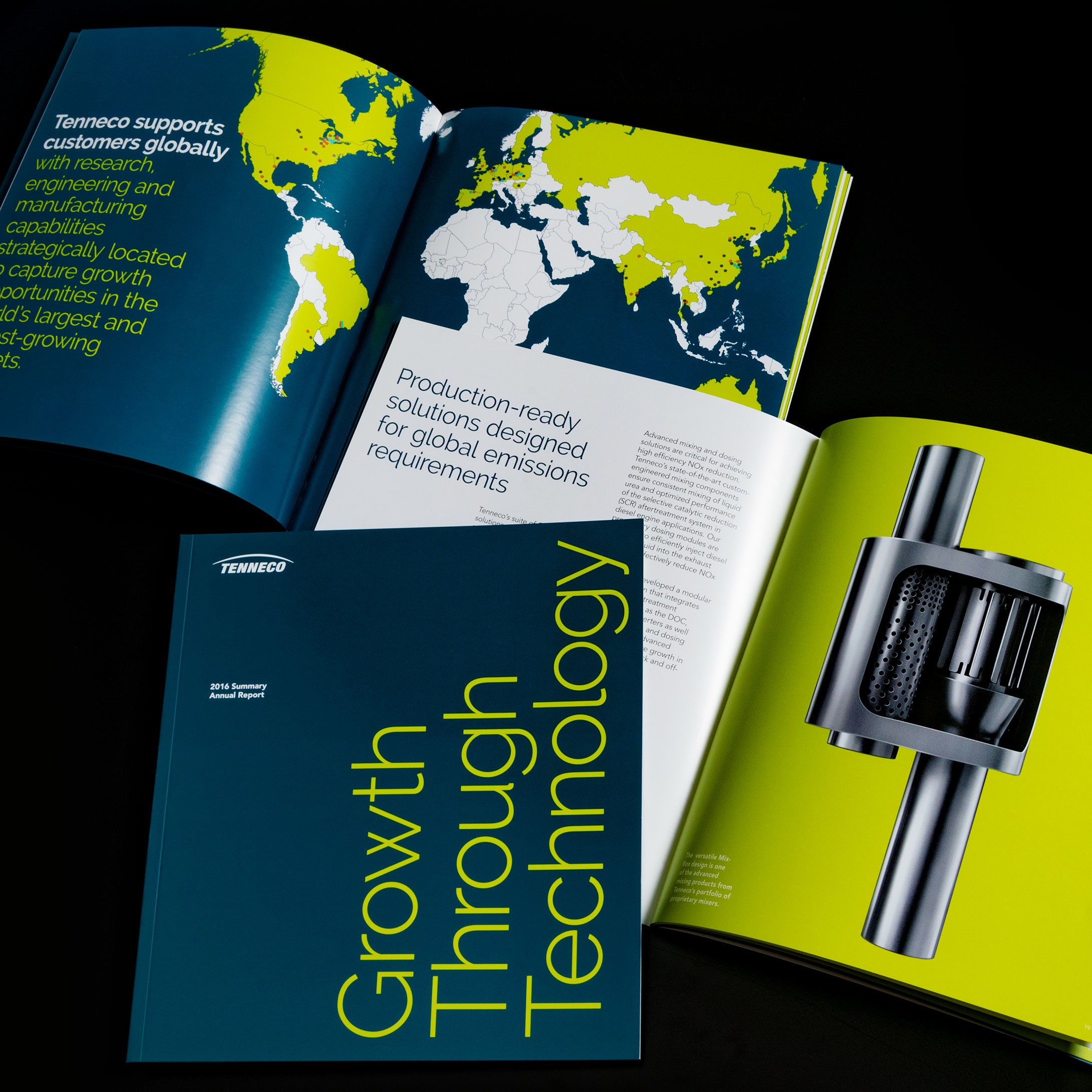 Tenneco Print Annual Report